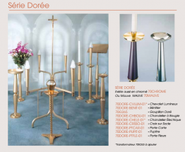 SERIE DOREE, MAUVE, CHROME