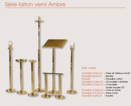 SERIE GELAKT MESSING AMBRE